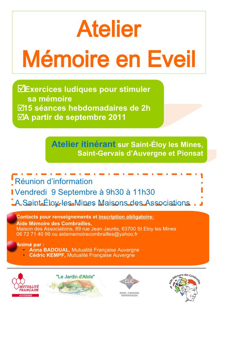 Extrêmement septembre | 2011 | Aide Mémoire des Combrailles DF79